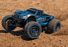 Traxxas Maxx 1/10 4WD Brushless Monster Truck Ready to Run (Blue)