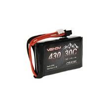 7.4V 430mAh 2S 30C LiPo Batter