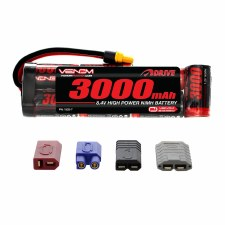 Venom 8.4V 3000mah 7 Cell Nimh Flat Battery Pack