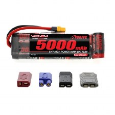 Venom 8.4V 5000mah 7 Cell Nimh Flat Battery Pack