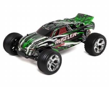 Traxxas 1/10 Rustler Stadium Truck 2WD Ready to Run (Green)