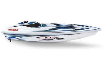 """Traxxas Blast 24"""" Ready to Run Brushed Boat (White)"""