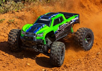 BACK ORDER AVAILABLE - Traxxas X-Maxx 8S 4WD Brushless Ready to Run Monster Truck (Green)