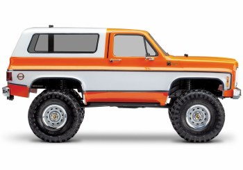 BACK ORDER AVAILABLE - Traxxas TRX-4 1/10 Trail Crawler Truck w/ 79' Chevrolet K5 Blazer Body (Orange)