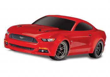 Traxxas 4-Tec 2.0 1/10 Touring Car Ready to Run with Ford Mustang GT Body (Red)
