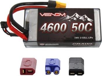 50C 2S 4600mAh 7.4V Crawler Li