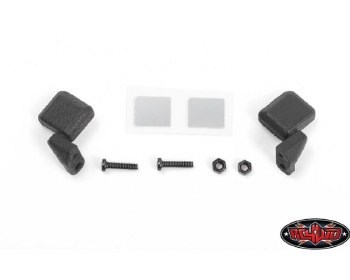 RC4WD Axial SCX24 Jeep Wrangler Side Mirrors (Black)