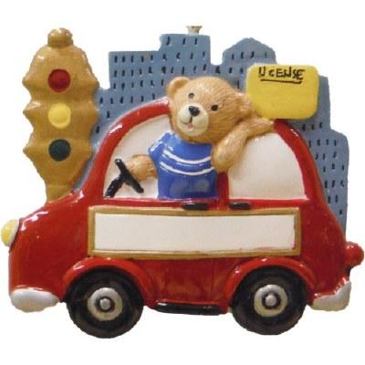 TEEN DRIVER IN CAR