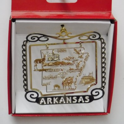 ARKANSAS BRASS ORNAMENT
