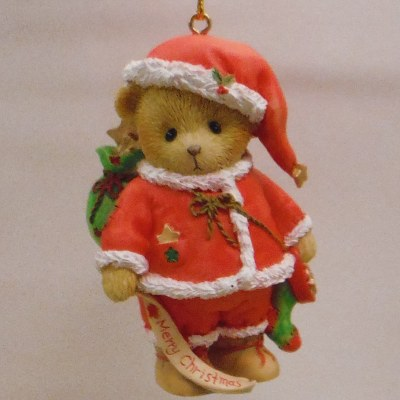 CHERISHED TEDDY I'VE GOT CHRISTMAS IN THE BAG