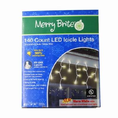 140 CT LED ICICLE LIGHTS