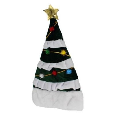 CHRISTMAS TREE SANTA HAT