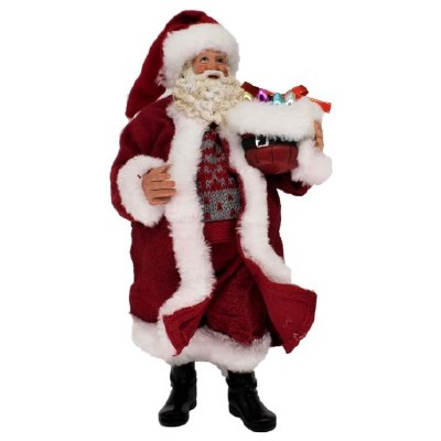 "11"" SANTA WITH BASKET"