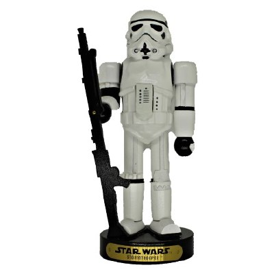 "10"" STORM TROOPER NUT CRACKER"