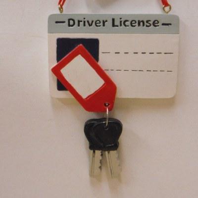 DRIVERLICENSE PERSONALIZE ORNAMENT
