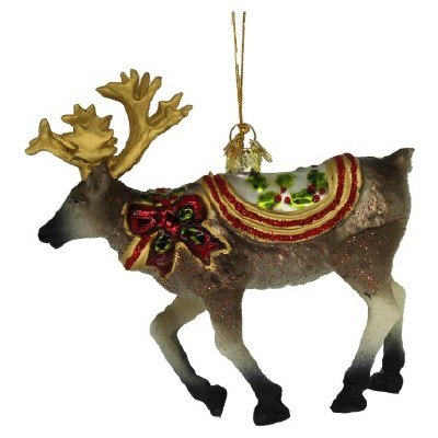 REINDEER GLASS