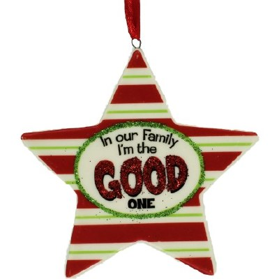 GOOD ONE FAMILY ORNAMENT