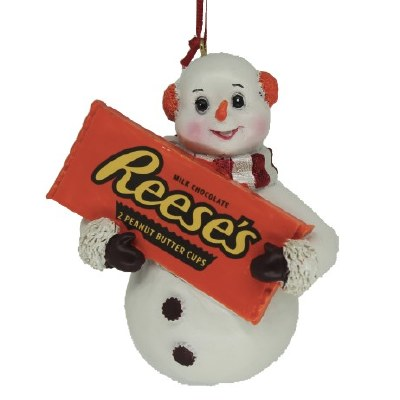 SNOWMAN WITH REESES