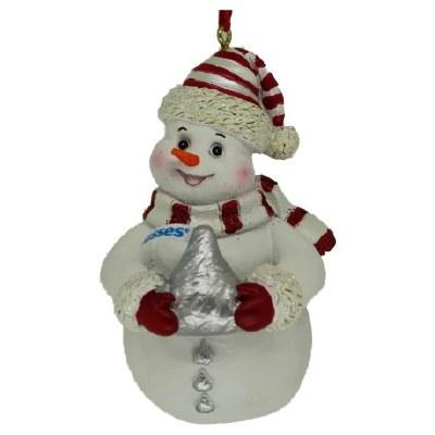HERSHEY KISS SNOWMAN