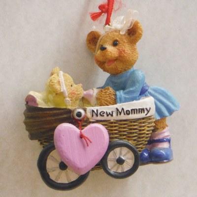 NEW MOMMY BEAR/STROLLER