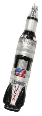SIVLER USA ROCKET SHIP