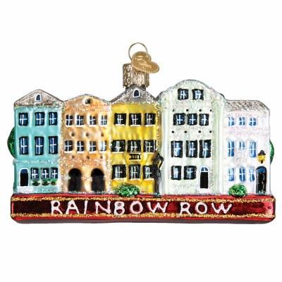 RAINBOW ROW OLD WORLD