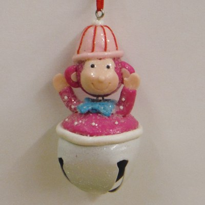 PINK MONKEY ON BELL