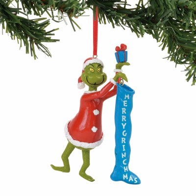 GRINCH STUFFING STOCKING