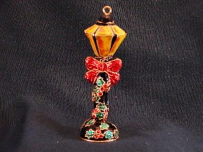 LAMP POST CLOISONNE