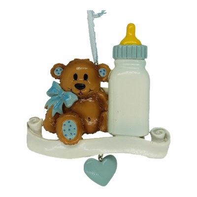 BABY BOTTLE/ BEAR  PINK