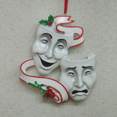 """COMEDY AND TRAGEDY MASKS"""