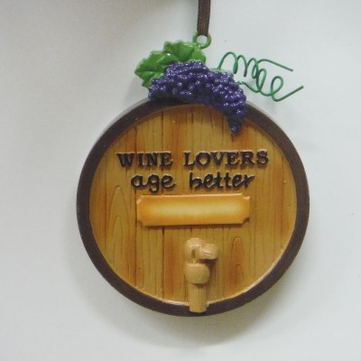 """""""WINE LOVERS AGE BETTER"""" BARREL WITH TAP"""