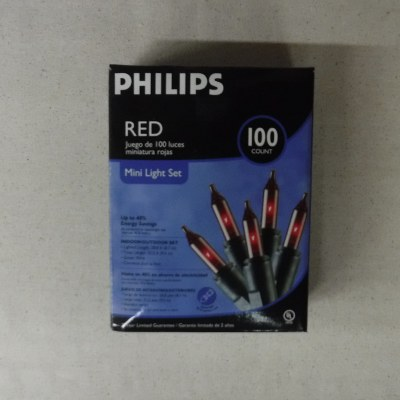 100 CT RED MINI RED LIGHTS