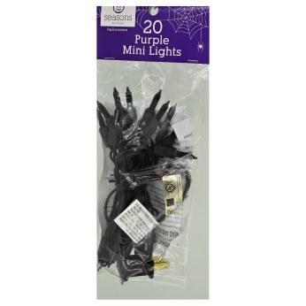 20 CT PURPLE MINI LIGHTS