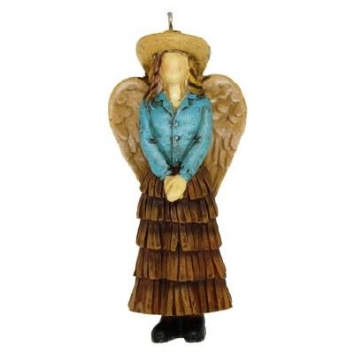 COWGIRL ANGEL IN DRESS
