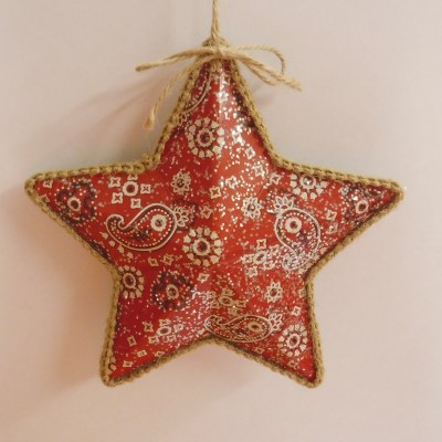 BANDANA PRINTED STAR