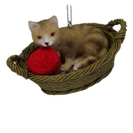 TAN CAT IN A BASKET