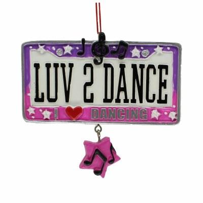 LUV 2 DANCE PLATE
