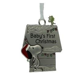 BABYS 1ST CHRISTMAS SNOOPY