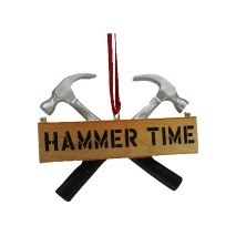 HAMMERS CROSSED WITH A PLAQUE