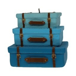 STACK OF SUITCASES