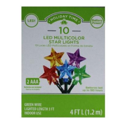 10 CT BO LED STAR LIGHTS