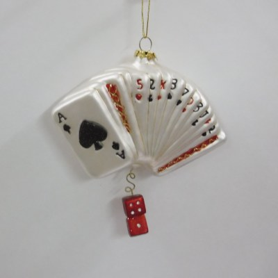 DECK OF CARDS GLASS