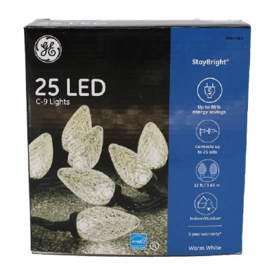 TEXTURED CLEAR LED COLORED SET