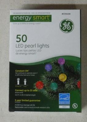 50 LED PEARL LIGHTS MULTI COLOR
