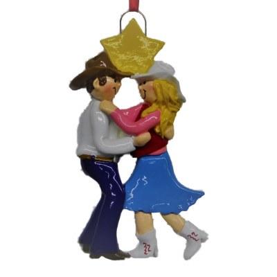 WESTERN DANCER COUPLE