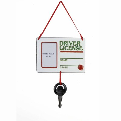 DRIVERS LICENSE PICTURE FRAME