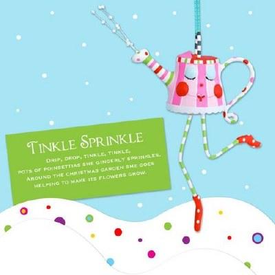 TINKLE SPRINKLE TEA POT