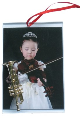 PICTURE FRAME FOR TRUMPET PLAYER