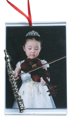 FLUTE PICTURE FRAME